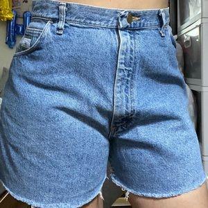 Vintage Wrangler Denim Shorts